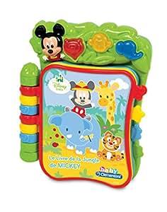 Clementoni 62795.0 Disney - Libro musical de Mickey (importado de Francia)