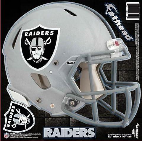 NFL Oakland Raiders Fathead Helmet Decal (Nfl Helmets Kids)