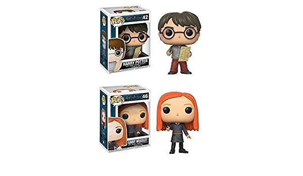 Funko POP! Harry Potter: Harry Potter w/ Marauders Map + ...