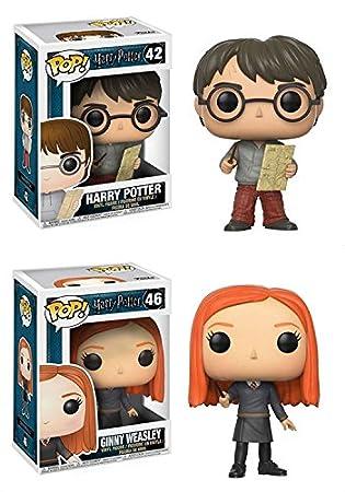 Funko POP! Harry Potter: Harry Potter w/ Marauders Map + ...