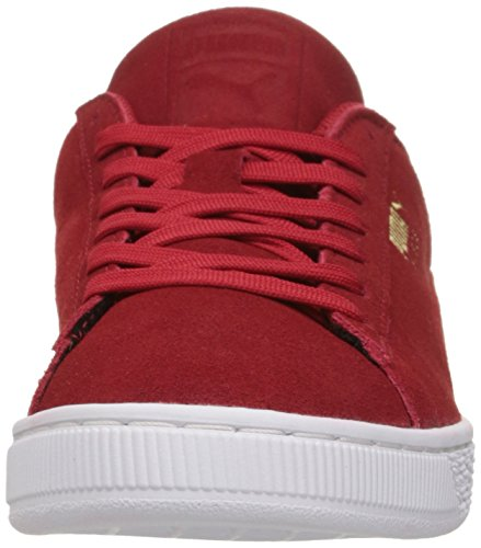 PUMA Mens Suede Classic Debossed Q3 Fashion Sneaker Barbados Cherry StvtF5B