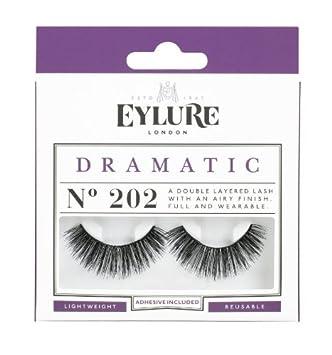 284f8883899 Amazon.com: Eylure Strip Lashes No. 202 (Dramatic) by Eylure: Beauty