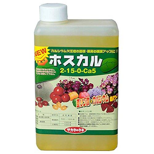 【12本】 ホスカル 1L 亜リン酸液肥 液体肥料 サカタのタネ 代不 B0756T4W77