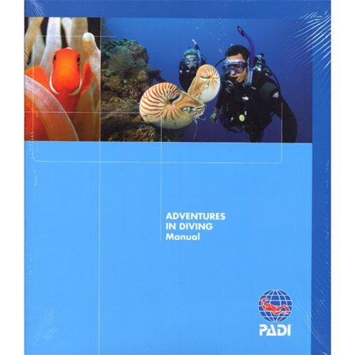 PADI Adventures in Diving Book and Slate by Padi