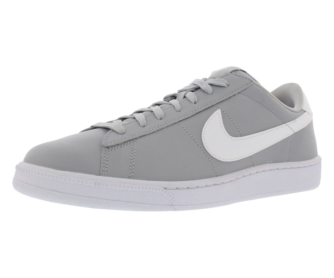 various colors e6dcc 1c5d8 Galleon - NIKE Men s Tennis Classic Leather Fashion Sneaker (8 D(M) US,  Wolf Grey White)