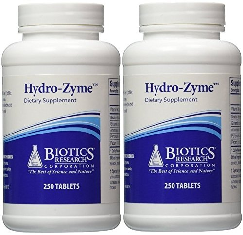 Biotics Research - Hydro-Zyme 250t (250 Tablets (Pack of 2))