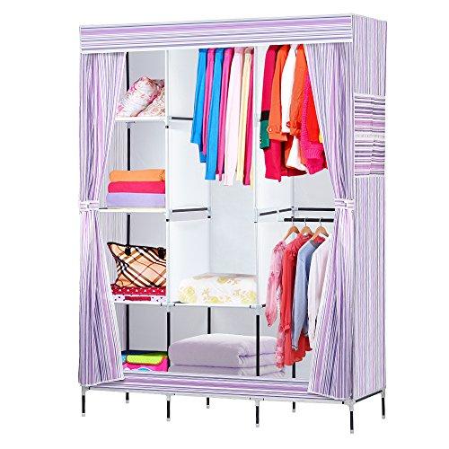 NEX Wardrobe DIY Clothes Storage Cabinet Portable Tool