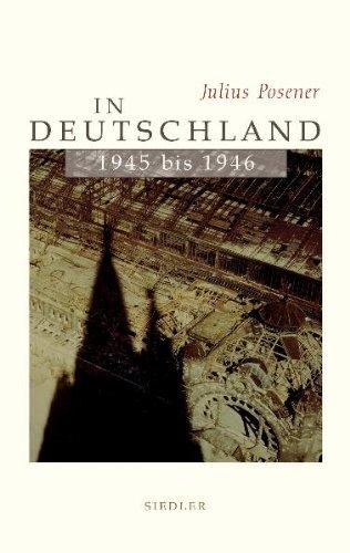 In Deutschland 1945 bis 1946.