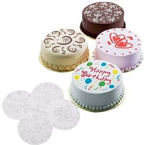 Wilton Cake Stencils Variety Pack