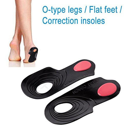 Pronation Correction X//O Type Gel Feet Arch Support Orthotic Inserts Insoles