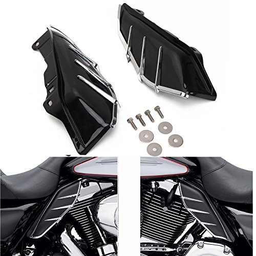 Automobiles & Motorcycles Beautiful 1pair Black Aluminum Upper Fork Slider Cover Cast Fits For Harley Touring And Trike Models 1980-2013 Road King Street Glide Sophisticated Technologies Motorcycle Accessories & Parts