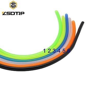 Sellify Accesorios y piezas Rrd de seis colores de 2 metros Longitud ...