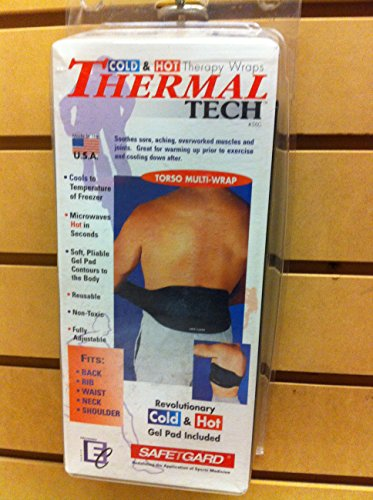 Safe T Gard #560 Thermal Tech Therapy Wrap TORSO Multi Wrap (Thermal 560)