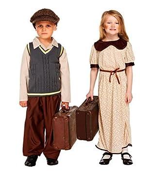 Kinder Kostum Fluchtling 1 2 Weltkrieg Fur Madchen Jungen