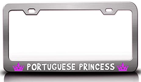 Princess License Plate For Girls - Wiring DATA •