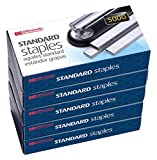 Officemate Standard Staples, 5 Boxes General