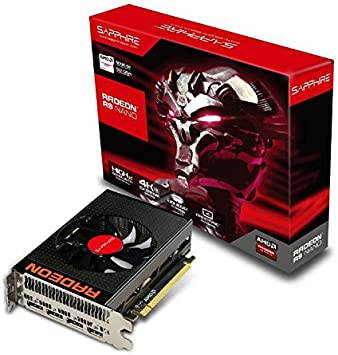 Amazon.com: Sapphire Radeon R9 Nano 4GB HBM HDMI/TRIPLE DP ...