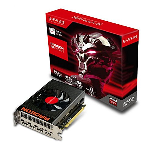 Sapphire Radeon R9 Nano 4GB HBM HDMI/Triple DP PCI-Express Graphics Card 21249-00-40G