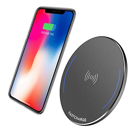 KRIGEL Wireless Charger, Ultra Slim Fast Qi Wir...