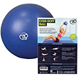 Yoga-Mad Exersoft Ball,Blue