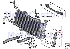 Amazon Com Bmw Genuine Motorcycle Engine Cooling System