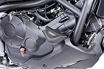 leicht get/önt 30/% Verkleidungsscheibe Puig Tourenscheibe mit Luftspoiler Honda NC750X 2016
