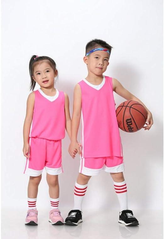XIAOL Niños Baloncesto Jersey Conjuntos Uniformes Kits Niños Niños ...