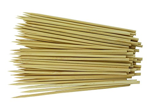 "6"" 300 pcs Natural Bamboo Skewers"