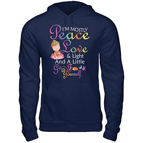Peace And Love Hooded T-Shirt - 4