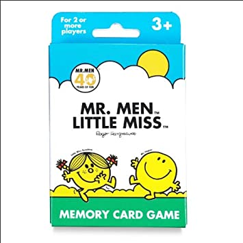 Amazon.com: Paul Lamond Mr. Men & Little Miss tarjeta de ...