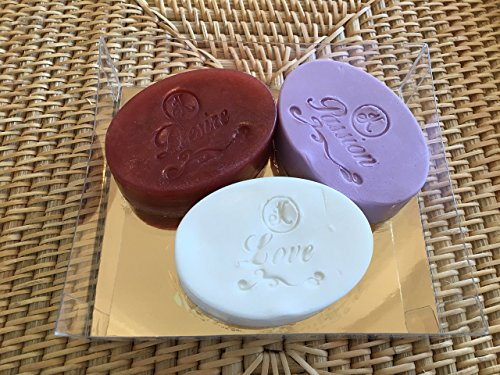"Price comparison product image Glycerine Soap for face and body ""Luxury Romance Collection"""