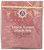 Stash Tea Black Forest Tea, 10 Tea Bags (Pack of 12)