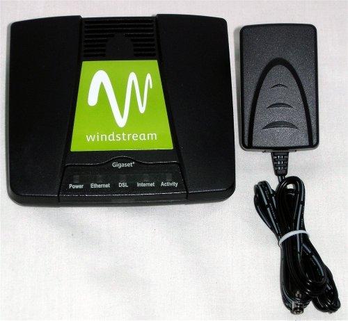 Windstream Gigaset 4300 ethernet ADSL Modem