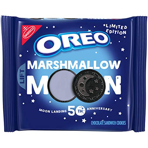 OREO Marshmallow Moon Cookies, Limited Edition, 10.7 Oz. Package
