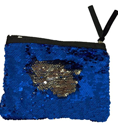 Moss Loveseat (Menglihua Magic Reversible Mermaid Sequins Wallet Card Coin Phone Holder Gift Handbag NavySilver One Size)