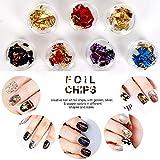 5 Box 11440pcs Nails Rhinestones and 36 Pots Foils