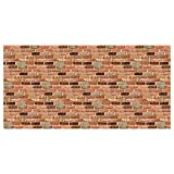 "Pacon PAC57465 Fadeless Design Roll, 48"" x 50, Reclaimed Brick"