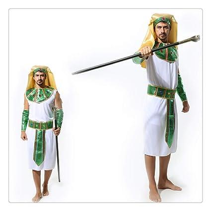 Z-One 1 disfraz de faraón de Halloween para cosplay, para hombre ...