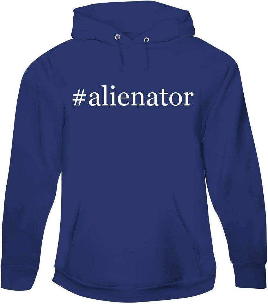 #Alienator - Men's Hashtag Pullover Hoodie Sweatshirt 51ILSVEHDaL