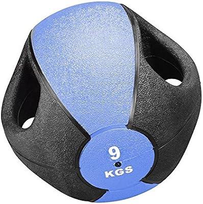 Trendy - Balón Medicinal con Asas (8 kg) Talla:9 kg: Amazon.es ...