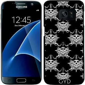 Funda para Samsung Galaxy S7 - Calavera Pirata Y Machete Cruz by Tanya