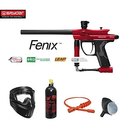 MAddog Spyder Fenix Bronze Paintball Gun Package - ()