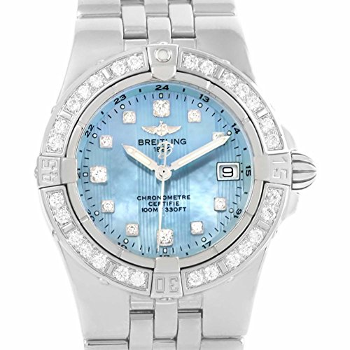 Breitling Windrider quartz womens Watch A71340 (Certified Pre-owned)