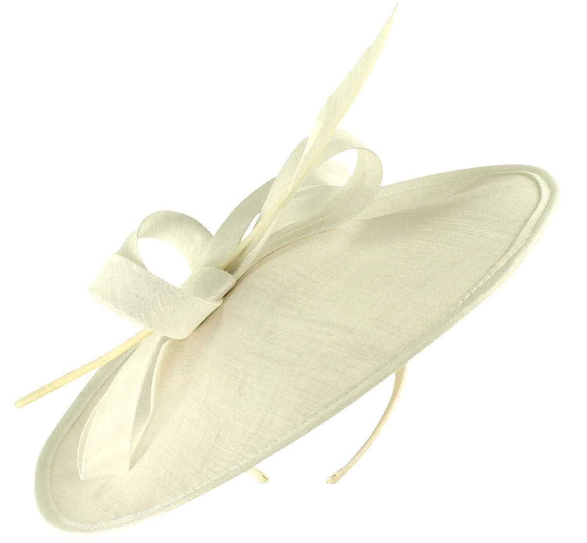 Failsworth Millinery Silk Disc Headpiece