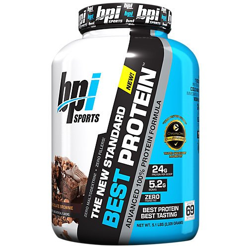 BPI Sports Best Protein, Chocolate Brownie, 5 Pound