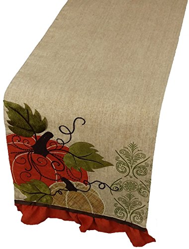 Xia Home Fashions Embroidered Polyester