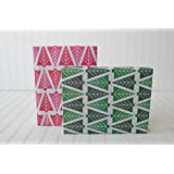 Modern Christmas Trees/Tannenbaum (6 Sheets) - Eco-Friendly Wrapping Paper - Reversible - Gift Wrap by Wrappily …