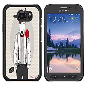 Dragon Case - FOR Samsung Galaxy S6 active/G870A/G890A (Not Fit S6) - on a strange road - Caja protectora de pl??stico duro de la cubierta Dise?¡Ào Slim Fit