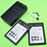 New High Capacity 2x 4300mAh Battery for LG Optimus G Pro E980 E989 with Charger ,Mini Touch Screen Styli Pen
