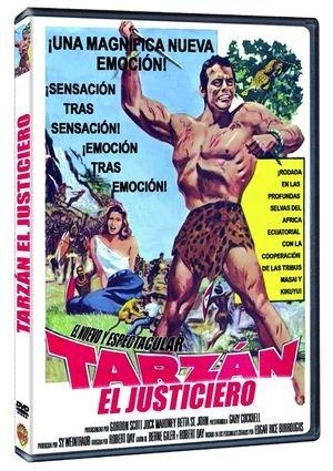 TARZAN THE MAGNIFICENT (Region 2) Gordon Scott: Amazon.es ...